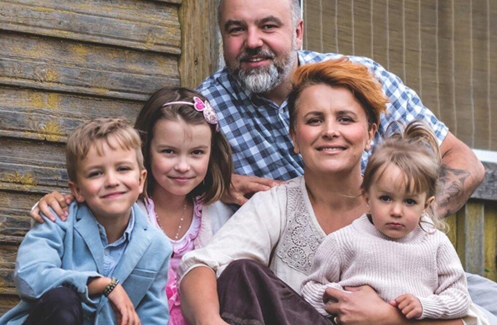 Perega maale elama: loodetavasti annab maal elamine lastele meenutamist väärt lapsepõlve