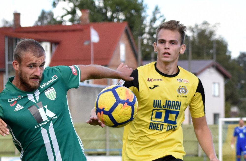 Juba teist hooaega järjest saab keskpoolkaitsja Alex Roosalu kõrgliigamurul madistada oma koduklubi vastu just Viljandi Tuleviku särgis.