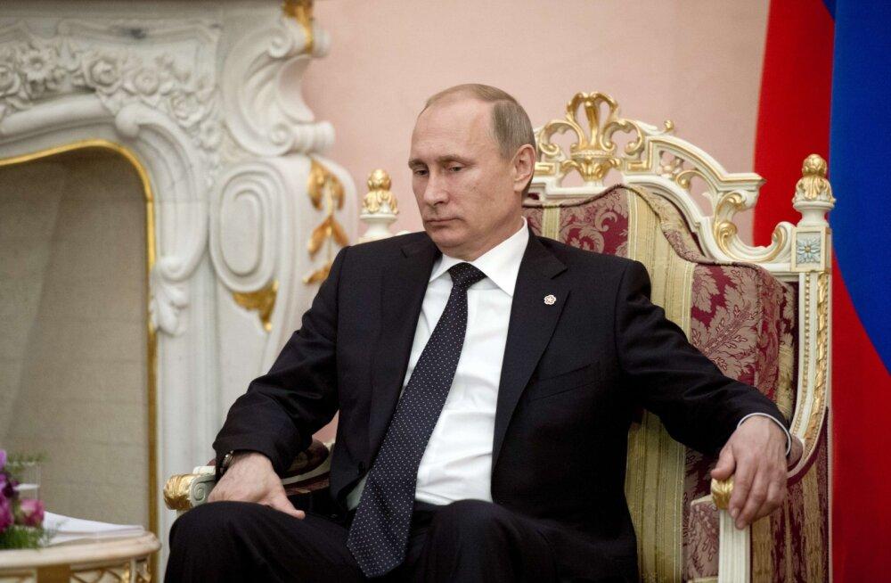 Putin luges kahjud kokku: Venemaal on saamata jäänud 160 miljardi dollari eest investeeringuid