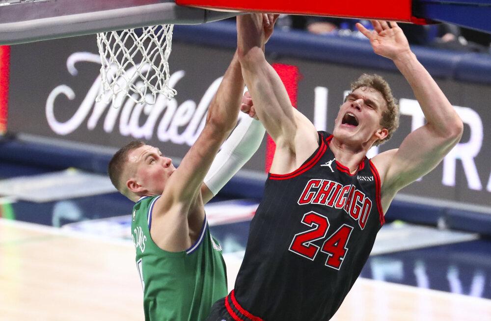 VIDEO | Eurooplaste duell NBA-s: Doncic ja Porzingis viskasid kahe peale 56 punkti, kuid Markkaneni ja Co vastu sellest ei piisanud