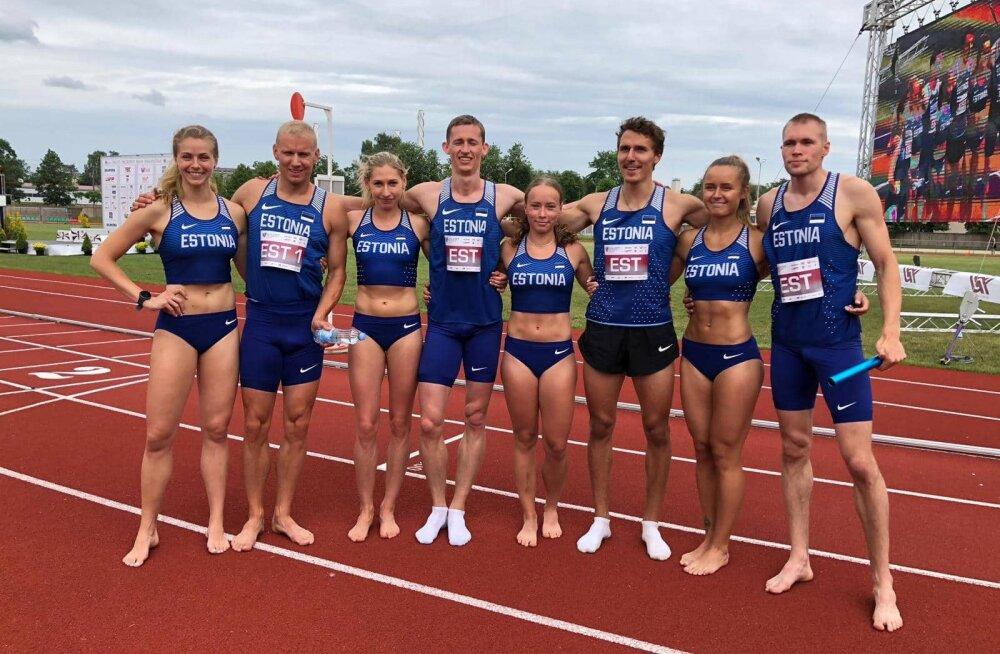 Kergejõustiku Balti võistkondlikud meistrivõistlused võitis Eesti koondis