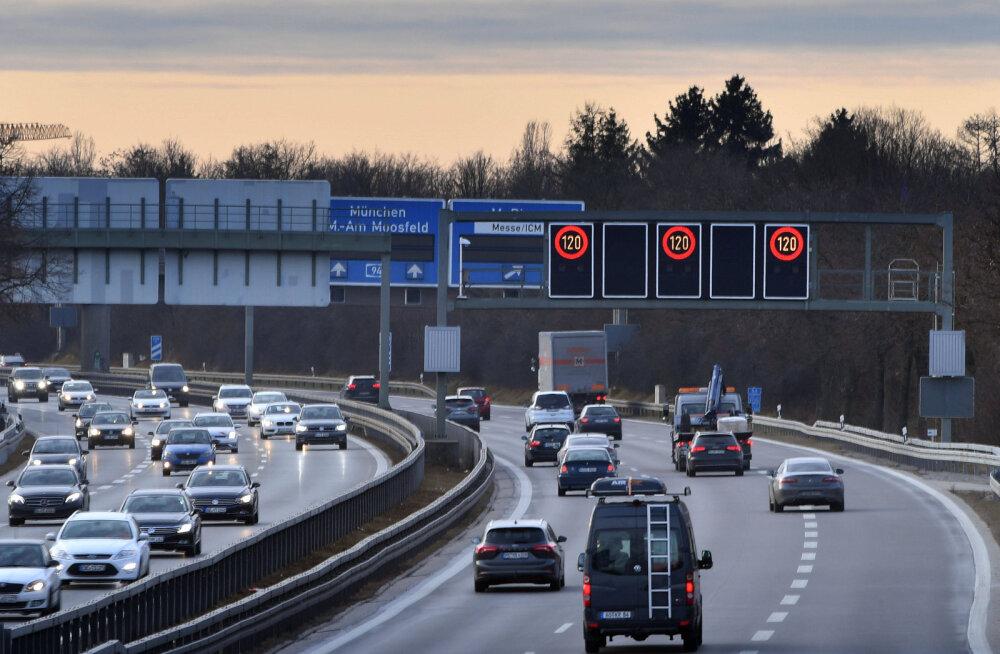 Saksamaa kiirteedel hakkavad tõenäoliselt peagi kehtima kiiruspiirangud