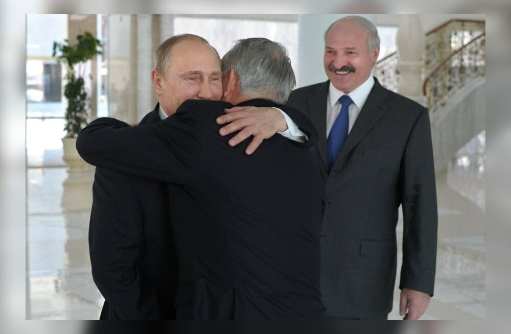 Putin, Lukašenko, Nazarbajev