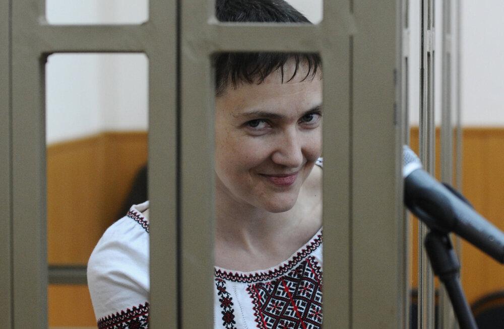 Рийгикогу решил поддержать Савченко, против проголосовали только Стальнухин, Корб и Вельман
