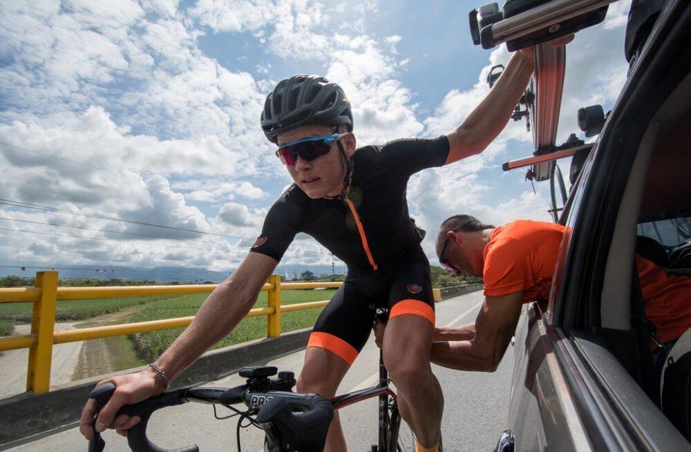 Kukkumisest kosunud Martin Laas teeb Balti Keti velotuuril üle pika aja esimese stardi