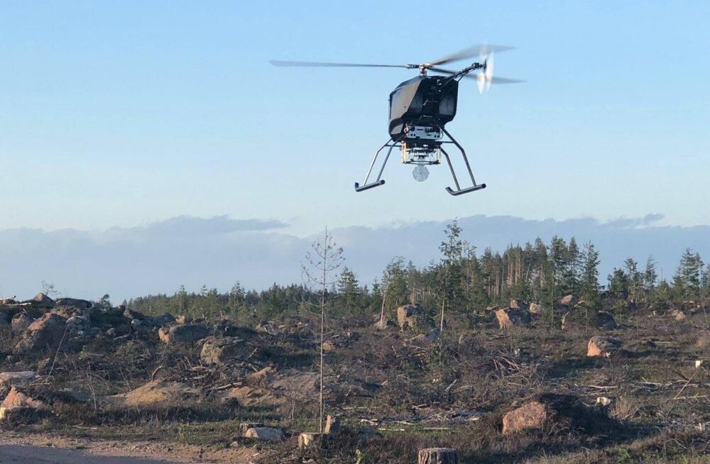Riik otsib võimalusi droonilennutamise reguleerimiseks