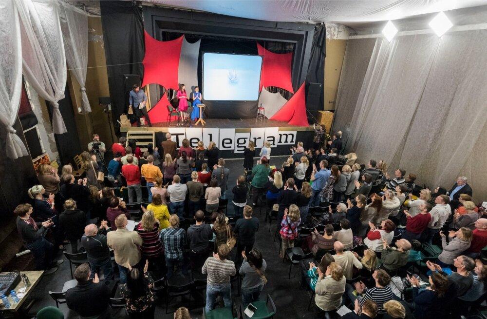 Janika Veski MMS-i ettekande lõppedes tõusis saalitäis rahvast aplodeerides püsti.