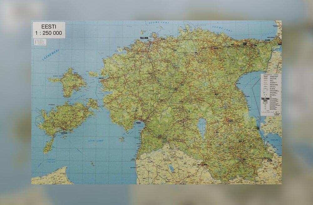 eesti kaart
