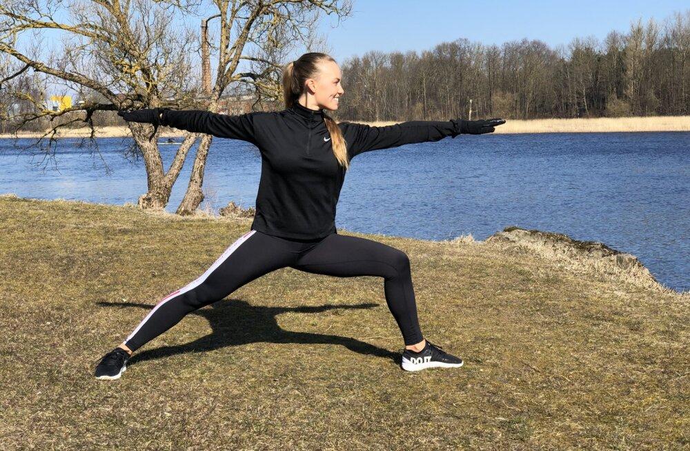 VÄLITREENING ALISIGA: vaata videost, kuidas teha intervalltreeningut kogu kehale