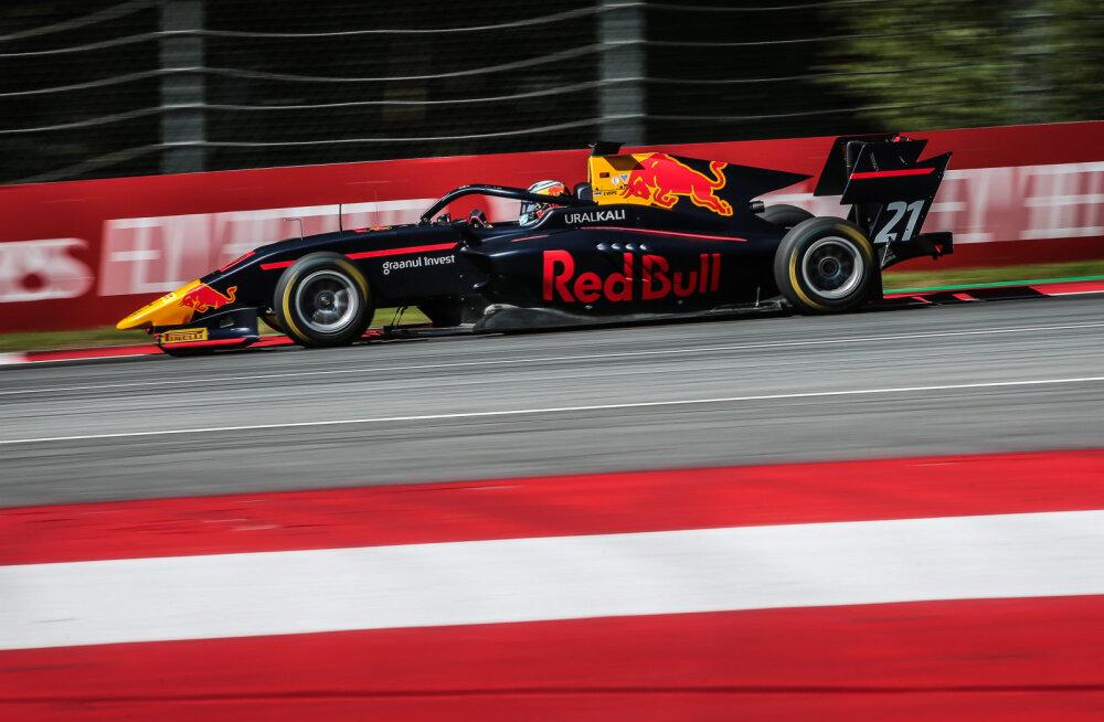 Austria GP: Hülkenbergi äpardus lõpetas enneaegselt F1 vabatreeningu, Vips näitas F3 autodest viiendat aega