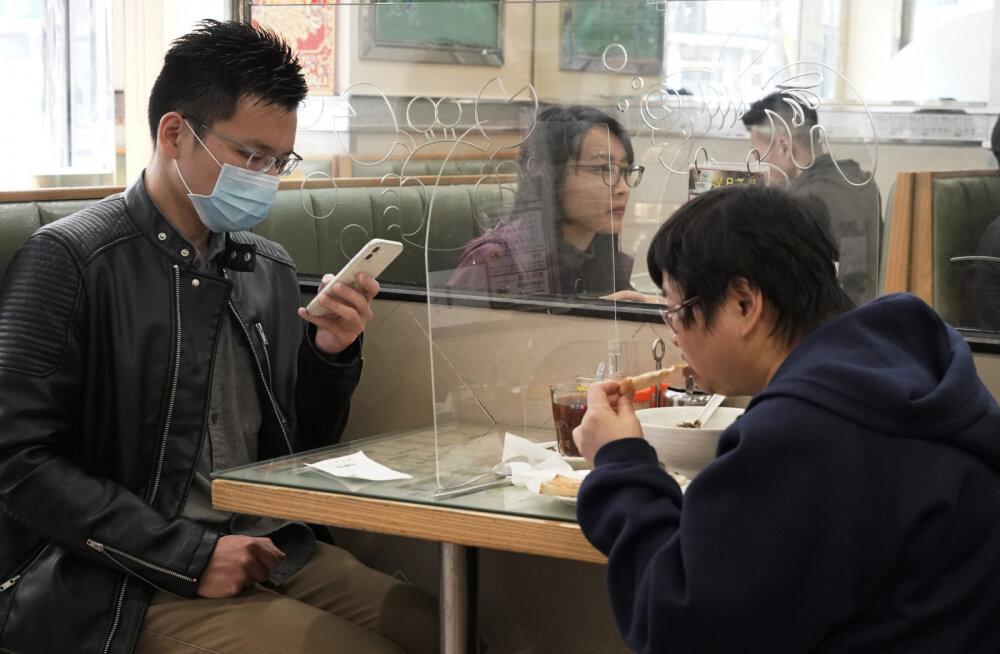 """""""Selle jaoks leidub äpp!"""" Hiinlastel on koroonaviiruse vältimiseks telefonirakendus"""