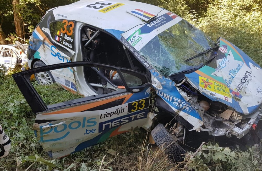 VIDEO | Läti EM-rallil tehti kaks hirmsat avariid