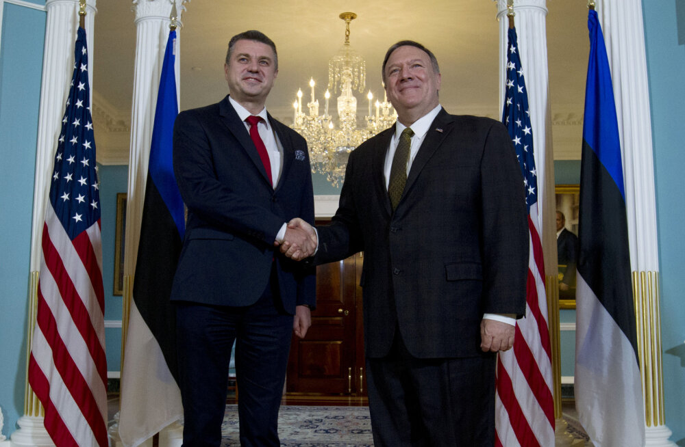 INTERVJUU | Reinsalu kohtus USA välisministri Pompeoga: rääkisime julgeolekukoostöö tihendamisest