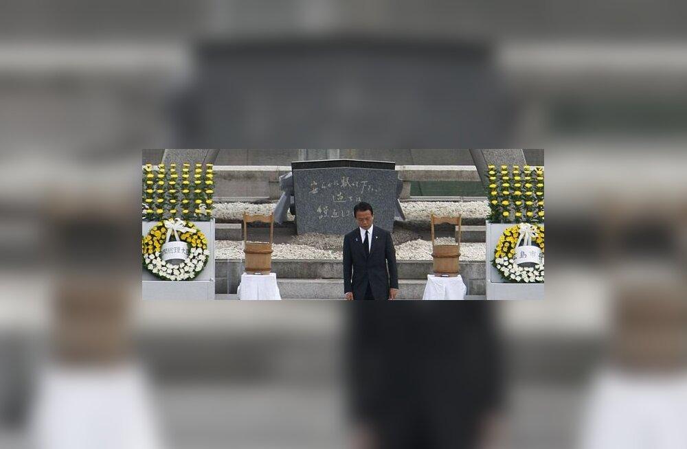 Hiroshimas mälestatakse USA tuumarünnakut