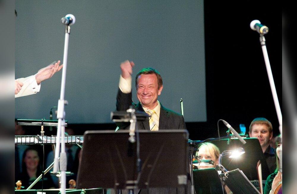 FOTOD: Lembitu Kuuse kommenteeris suusatamise asemel hoopis sümfooniaorkestrit