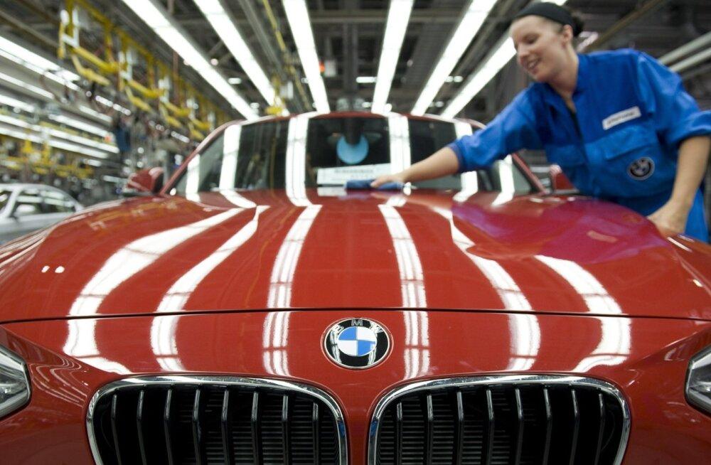 Saksa luksusautotootjaid ootab ees kehvem aeg