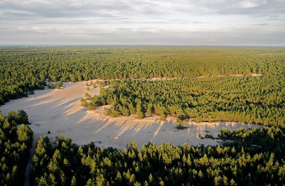 EESTI 100 AARET I Hiiumaa üllatab Eesti suurima kõrbemaastikuga