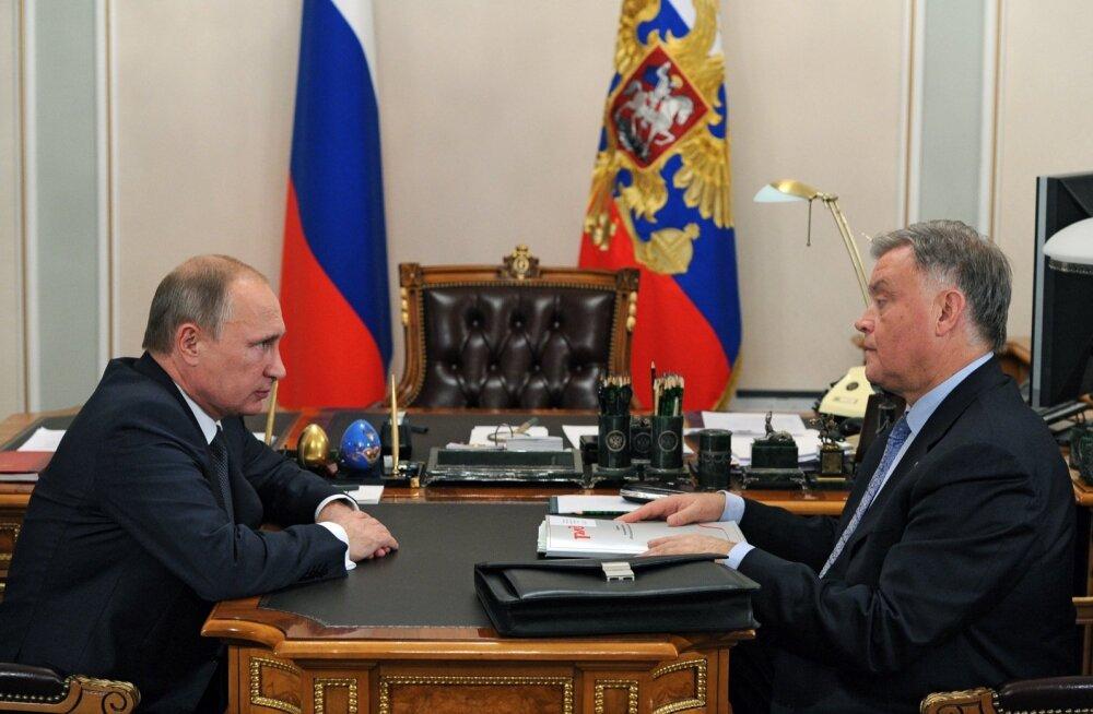 Vladimir Putin, Vladimir Jakunin