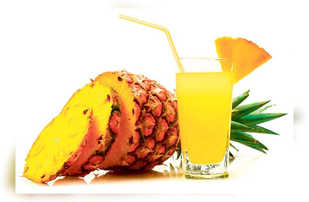 Ananass ravib ja aitab kehakaalu langetada