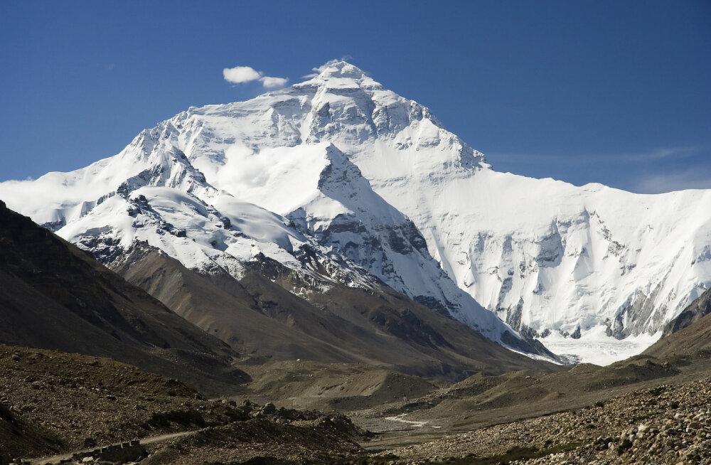 Kelle järgi sai nime maailma kõrgeim mägi?