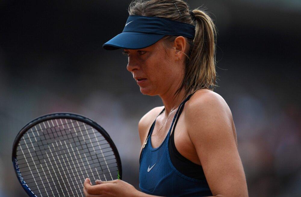 """Šarapova sai French Openi veerandfinaalis kuue aasta suurima """"koslepi"""""""