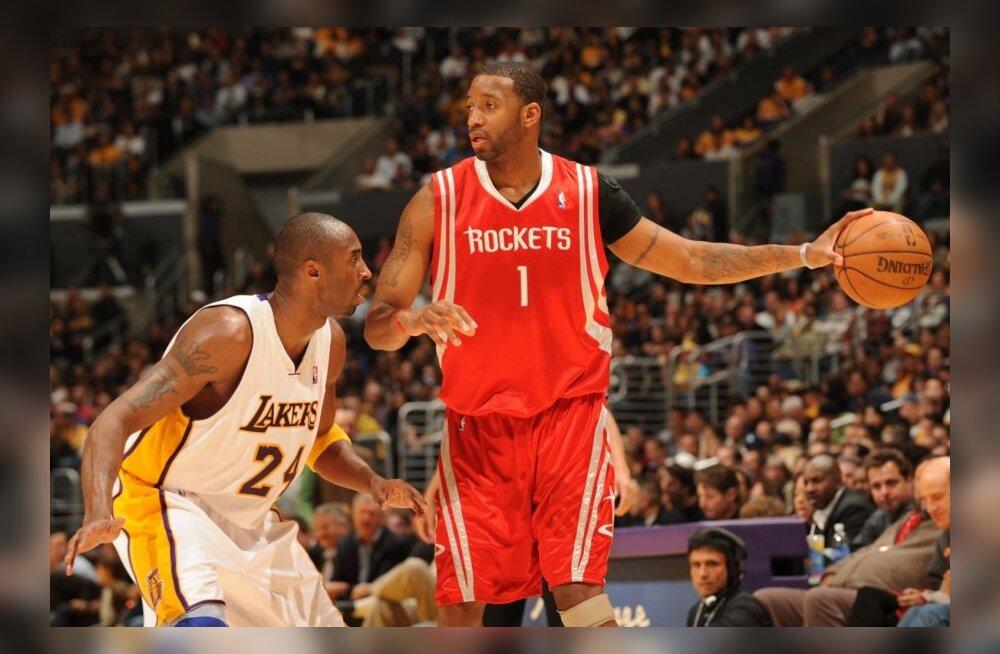 Kobe Bryant katmas Tracy McGradyt