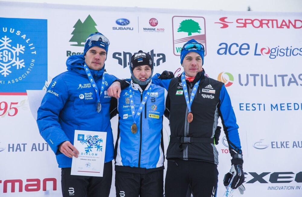 Eesti Meistrivõistlused murdmaasuusatamises 13.01.18