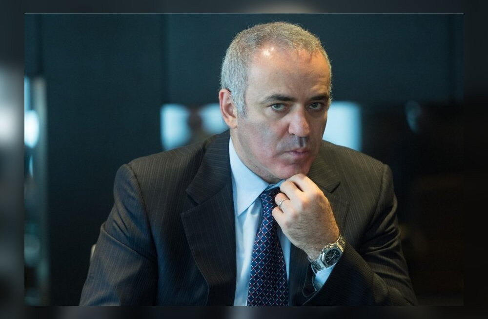 Garri Kasparovi pressikonverents