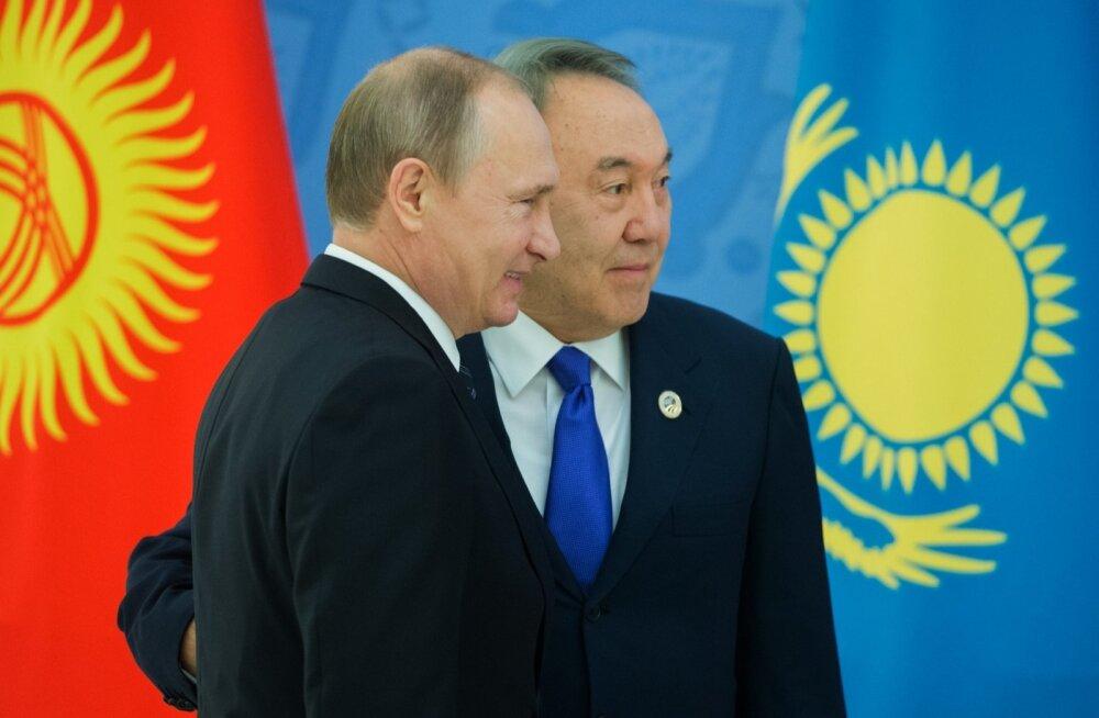 Nazarbajev, Putin