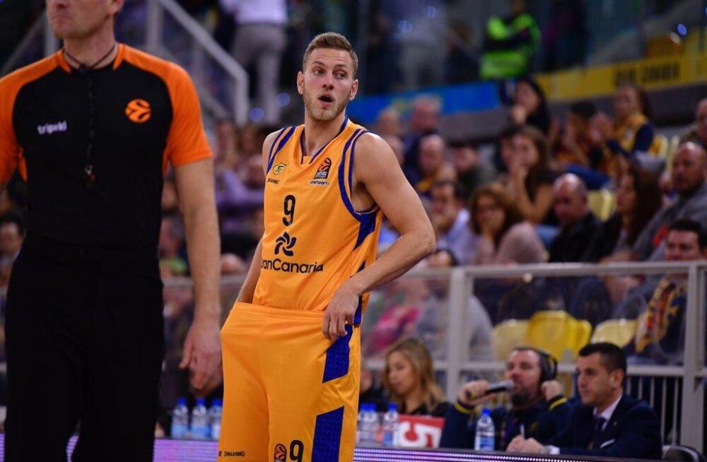 Siim-Sander Vene ei suutnud Gran Canariat koduliigas võidule aidata