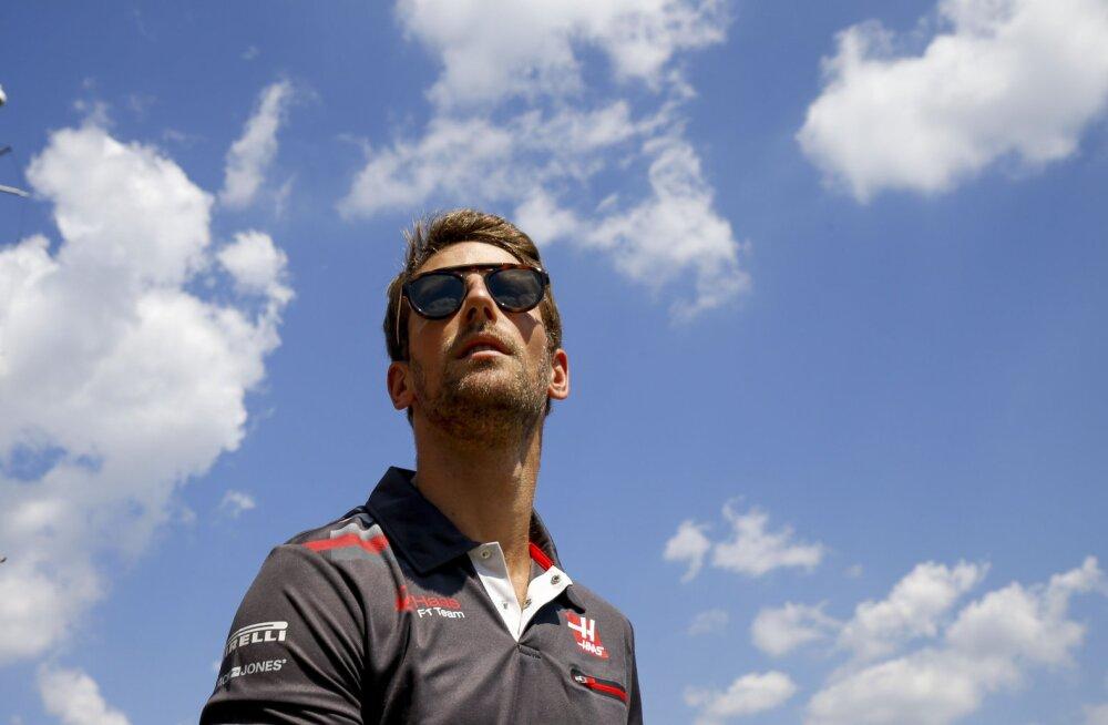Romain Grosjean võrdles end Novak Djokoviciga