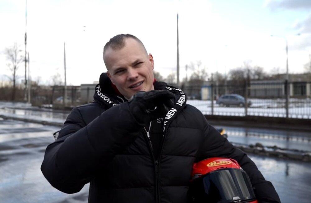 Популярный 31-летний блогер разбился на мотоцикле