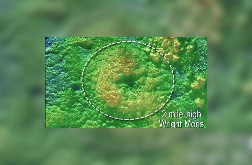 Lähemalt vaatamisest oli kasu: Pluutol võib leiduda jäävulkaane