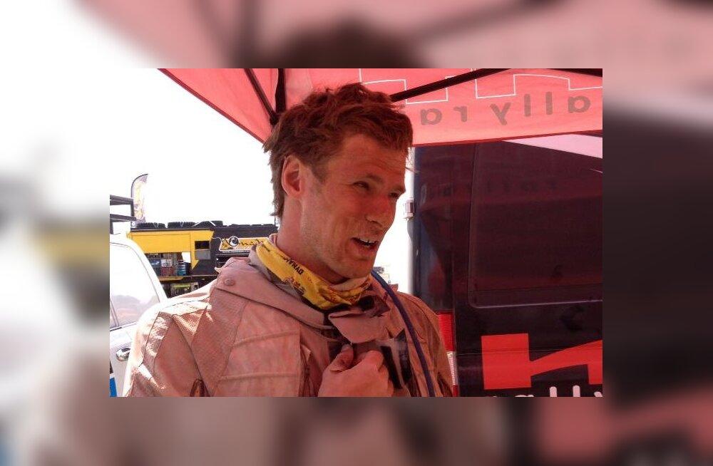 Triisa lõpetas Dakari ralli kümnenda katse 29. kohal