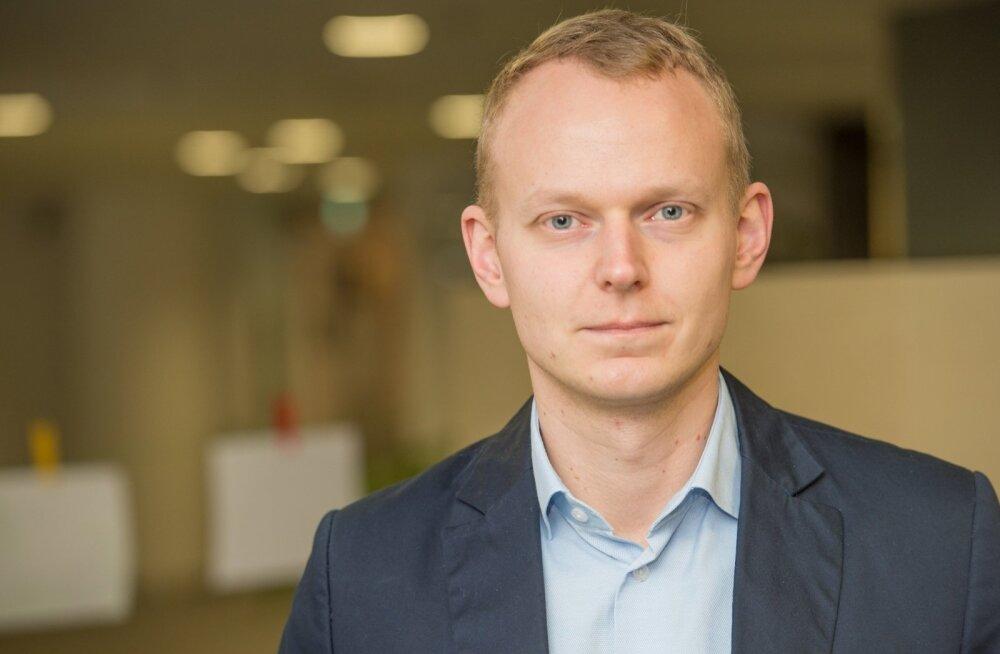SEB majandusanalüütik Mihkel Nestor.