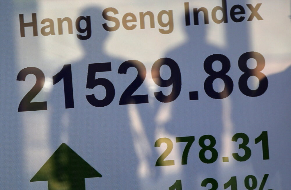 Hongkongi börsiindeks sai 50 aastaseks. Palju see on tõusnud?