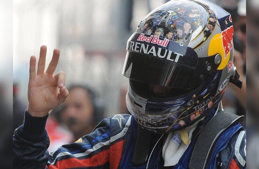 Sebastian Vettel, vormel-1, India