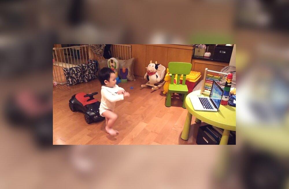 """Ülinunnu VIDEO: Beebi tantsib """"Gangnam Style'i"""" järgi"""