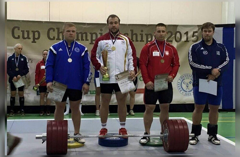 Sparta spordihoones toimus tõstmise Baltic Cup Championship