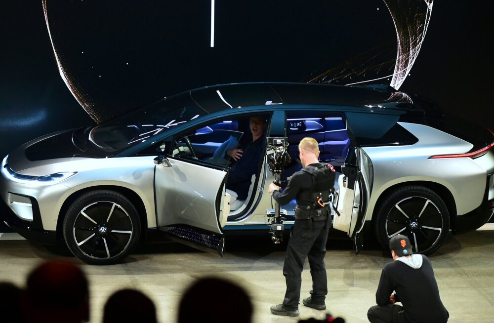 Täna öösel jõudis avalikkuse ette Tesla konkurent Faraday FF91 - kauakestvam aku, parem kiirendus