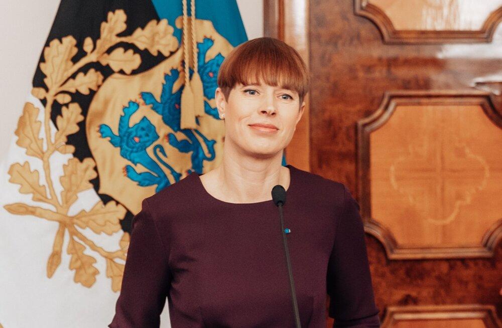 Президент Керсти Кальюлайд