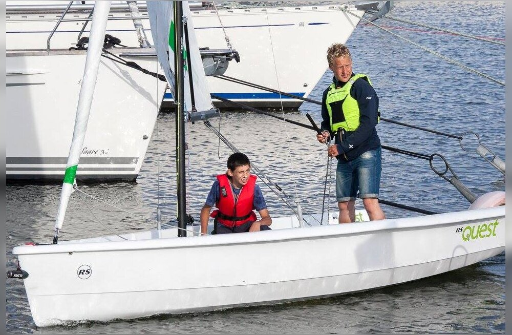 """Projekt """"Erilised purjetajad"""" Kuressaare Merepäevadel"""
