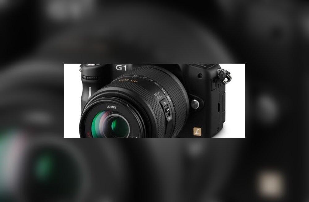 Kaamera: Panasonic Lumix G1