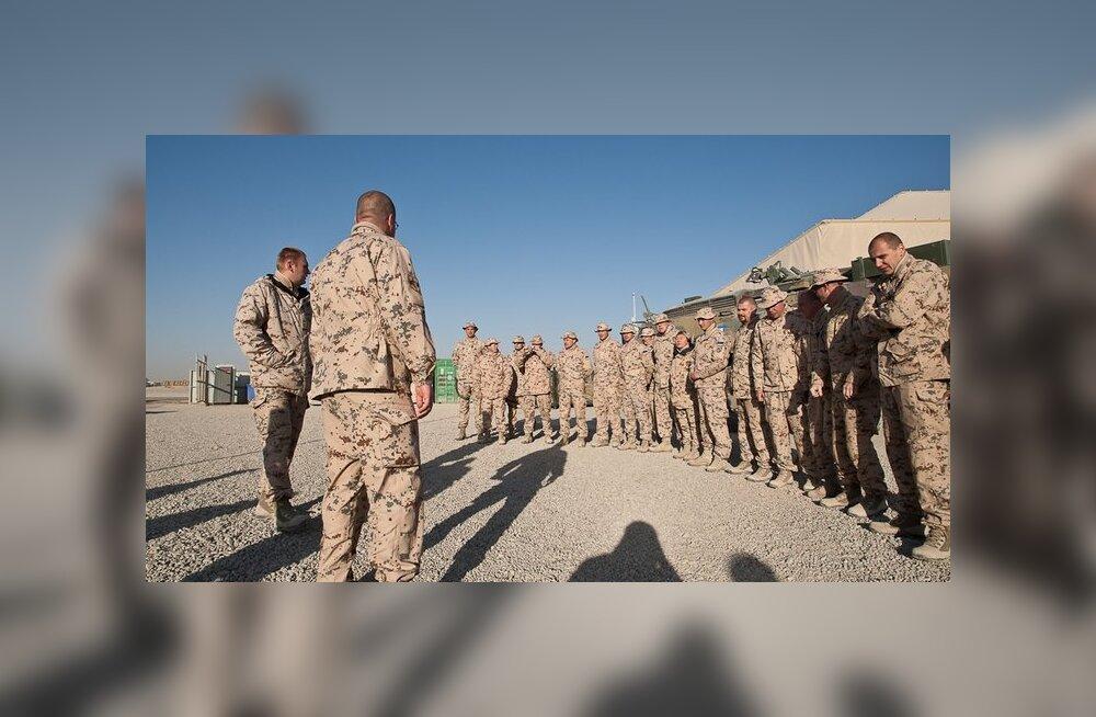 Estcoy-11 jõudis Afganistanist koju