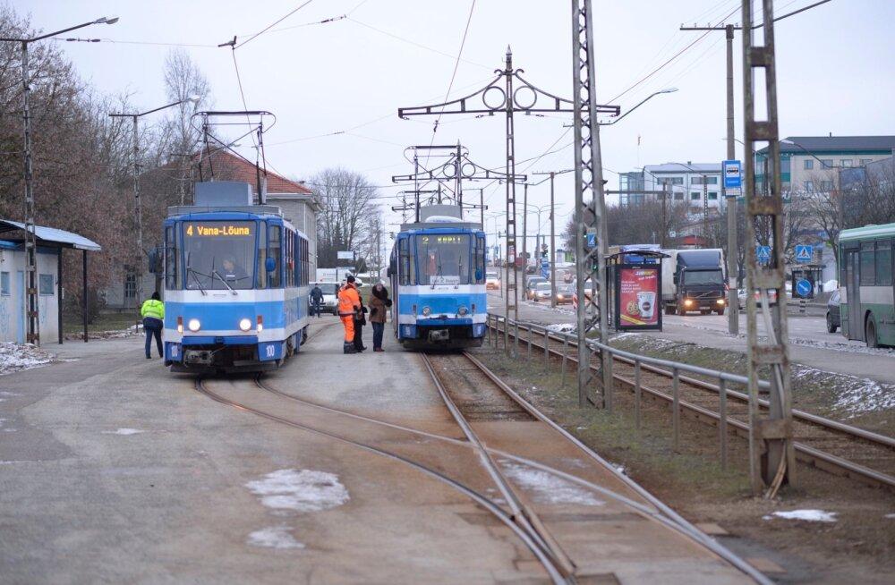 Alates esmaspäevast ei sõida trammid nr 2 ja 4