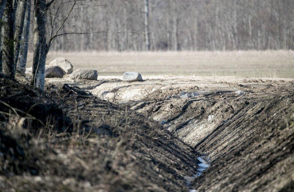 Maaparandussüsteemide toimimise tagamiseks nähakse ette eesvoolu kaitsevöönd.