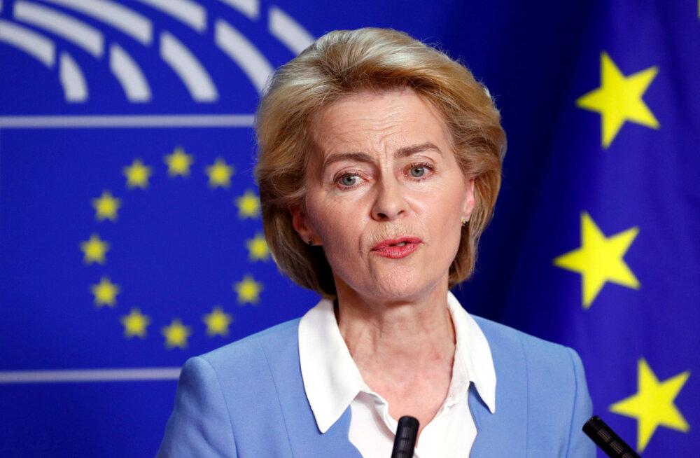 Von der Leyenil seisab ees otsustav hääletus Euroopa Komisjoni presidendiks saamiseks