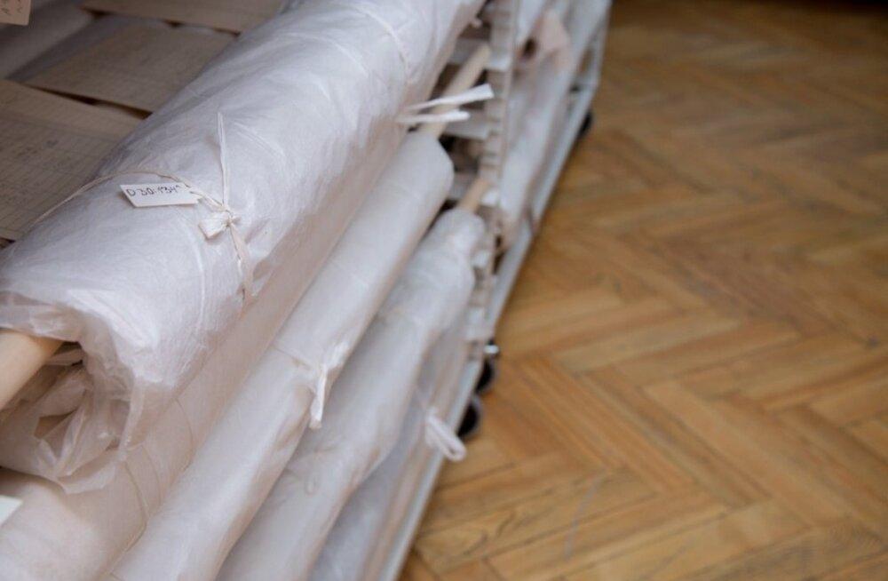Loosung pakituna tekstiilihoidlas