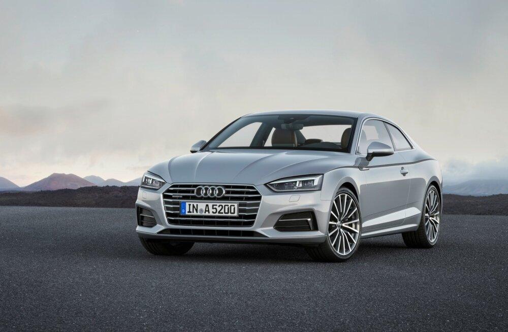 Audi A5 Coupé pilkupüüdev väliskuju on ühtviisi modernne ja ajatu. Praktiline võimekus on kupeel vähene, seevastu on sellel sõidulusti mitme auto jagu.