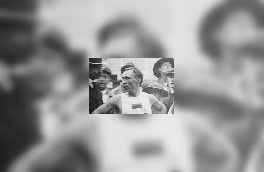 Kergejõustikuliit esitas Eesti maratonijooksjatele väljakutse: kes suudab olla kiirem kui Jüri Lossmann 1920. aastal?